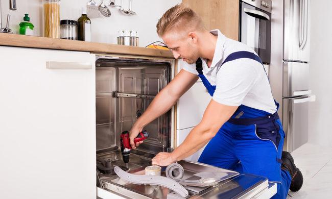 ボッシュ ビルトイン食器洗い機の取り付け方