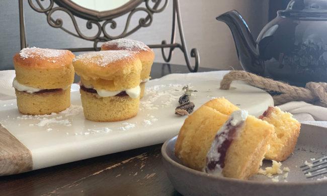 コンパクトキッチンマシンでつくる ヴィクトリアサンドイッチケーキ