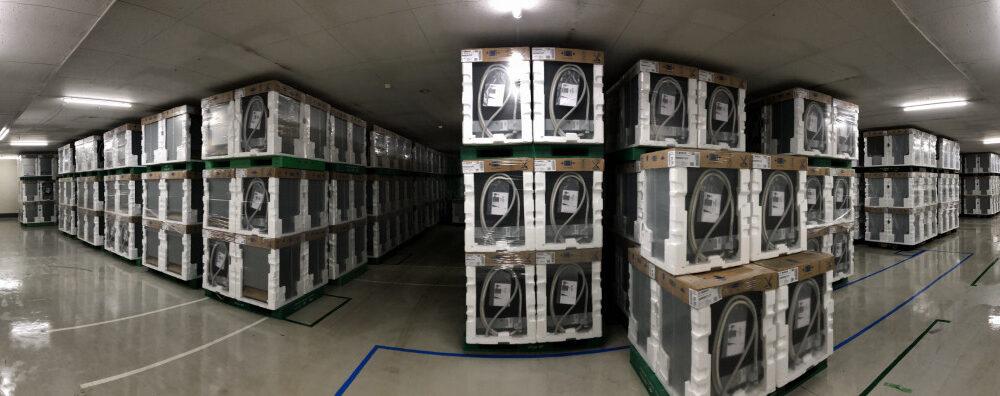 内緒で見せちゃいます🤫Boschビルトイン食器洗い機の保管倉庫<FBアーカイブ>